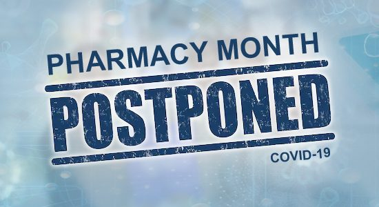 SAPC - Pharmacy Month Postponed